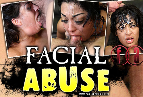 Audrianna Angel Destroyed On Facial Abuse